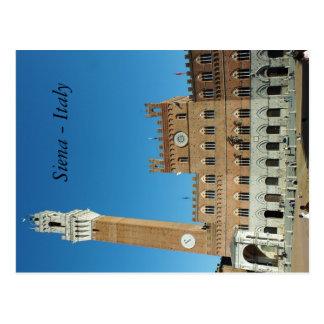 postal - Siena, Italia