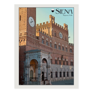 Postal Siena - Palazzo Pubblico