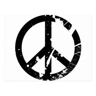Postal Signo de la paz