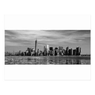 Postal Silueta de Nueva York