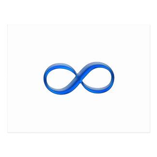 Postal Símbolo del infinito