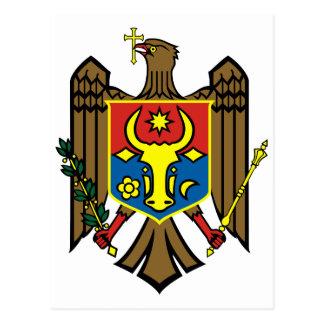 Postal Símbolo oficial de la heráldica del escudo de