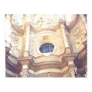 Postal Sinagoga blanca España Valencia España