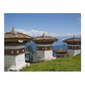 Postal Sindokha Dzong, paso 2 del La de Dochu