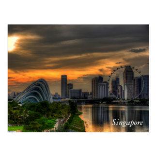 Postal Singapur Goldenhour