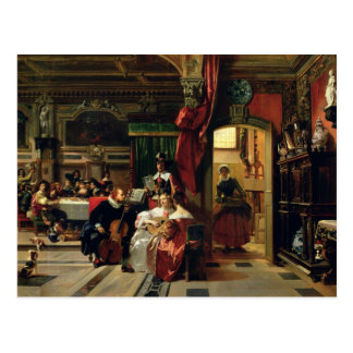 Postal Sir Anthony van Dyck en Londres, 1837