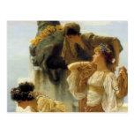 Postal Sir Lawrence Alma-Tadema una esquina de ventajoso