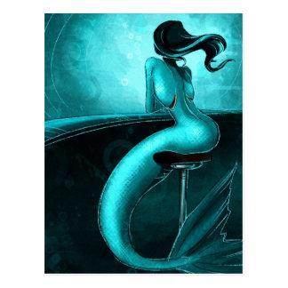 Postal Sirena solitaria