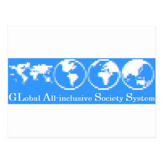 Postal Sistema inclusivo global de la sociedad (VIDRIO)