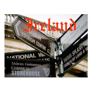 Postal siteseeing de Dublín Irlanda Eire