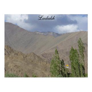Postal Sitio budista del rezo, Saboo, Ladakh, la India