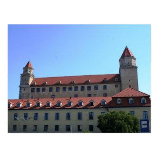 Postal Slovakia - Bratislava - Castle From Below