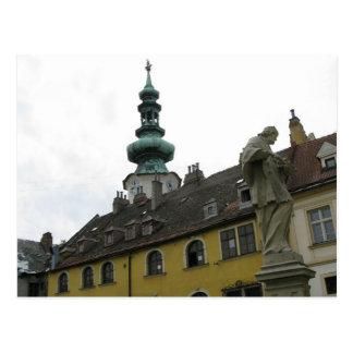Postal Slovakia - Bratislava - Clocks