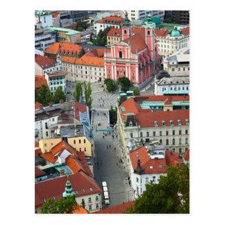 Postal Slovenia - Ljubljana - Sky View