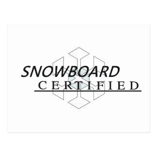 Postal Snowboard SUPERIOR certificada