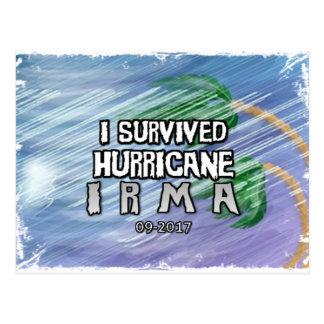 Postal Sobreviví el huracán Irma