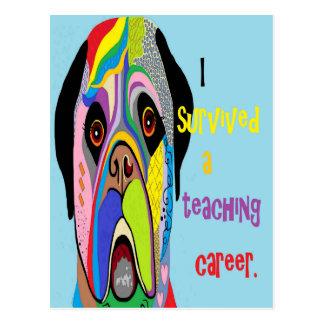 Postal Sobreviví una carrera de enseñanza