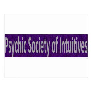 Postal Sociedad psíquica de la tienda de Intuitives