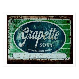 Postal Soda de Grapette
