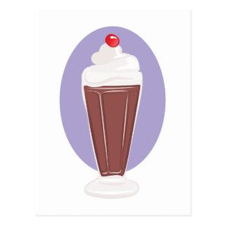 Postal Soda del chocolate