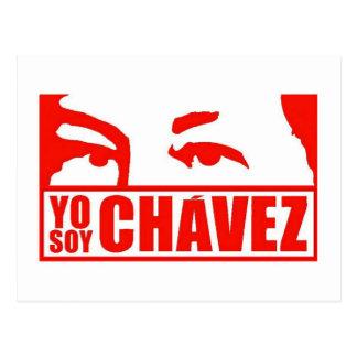 Postal Soja Chávez - Hugo Chávez - Venezuela de Yo