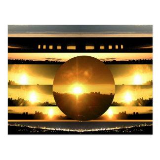 Postal SOL - fuente de energía vital