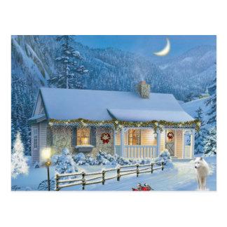 Postal Soledad del navidad