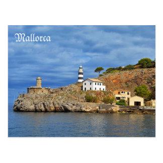 postal Soller-Sa Calobra desde el mar en Mallorca