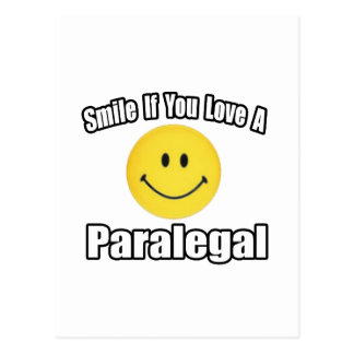 Postal Sonrisa si usted ama a un Paralegal