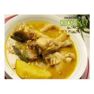 Postal Sopa de pollo