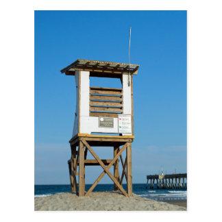 Postal Soporte 5 del salvavidas de la playa de