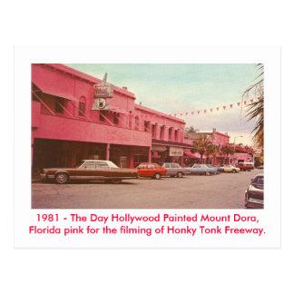 Postal Soporte Dora, la Florida - rosa pintado