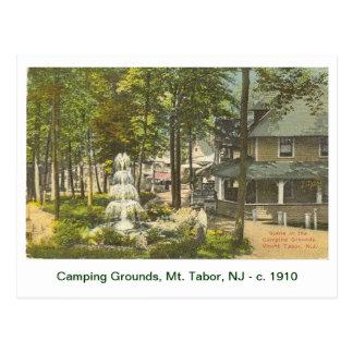 Postal Soporte Tabor, New Jersey - C. 1910