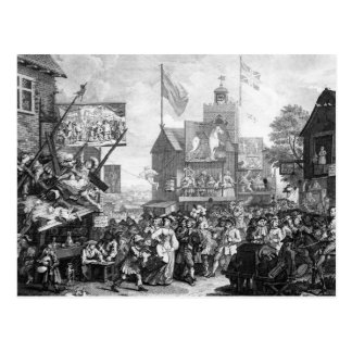 Postal Southwark justo, 1733