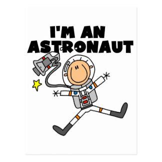 Postal Soy camisetas y regalos de un astronauta