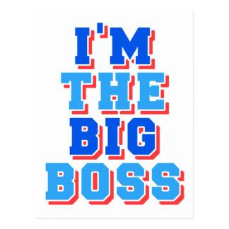 Postal Soy el gran jefe