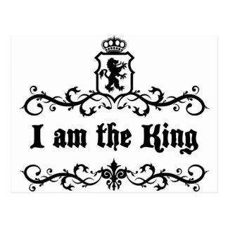 Postal Soy el rey