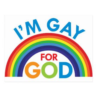 Postal Soy gay para dios