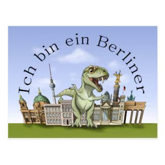 Postal Soy un berlinés Postcard