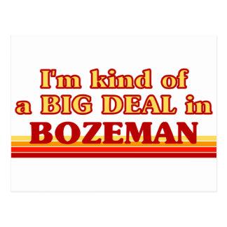 Postal Soy un poco una GRAN COSA en Bozeman