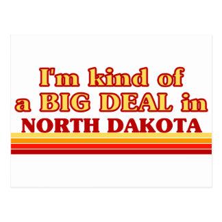 Postal Soy un poco una GRAN COSA en Dakota del Norte