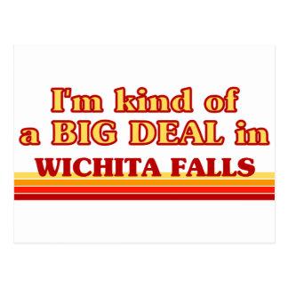 Postal Soy un poco una GRAN COSA en las caídas de Wichita