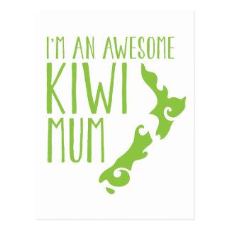 Postal Soy una MOMIA impresionante Nueva Zelanda del KIWI