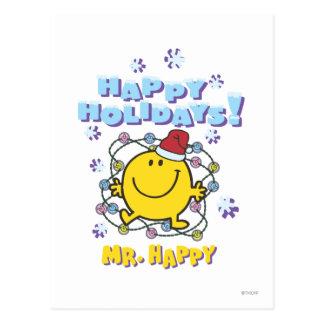 Postal Sr. Happy el | buenas fiestas