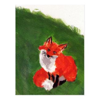Postal Sr. joven Fox