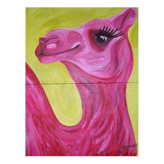 Postal Srta. Camel Postcard