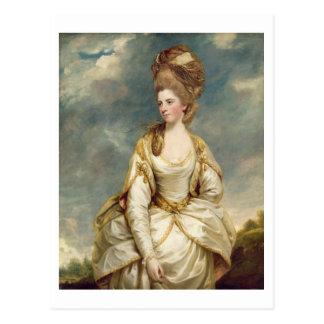 Postal Srta. Sarah Campbell, 1777-78 (aceite en lona)