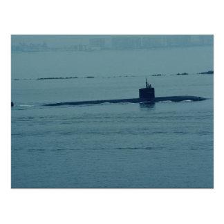 """Postal SSN 713"""" Houston"""", submarino de propulsión nuclear"""
