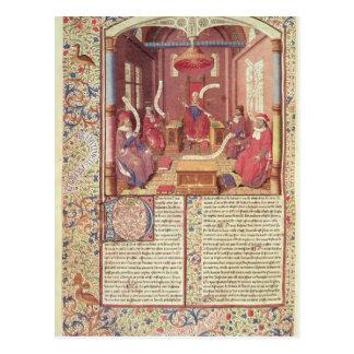Postal St Augustine, Epicurus, Zeno, Antiochus y