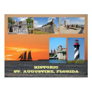 Postal St Augustine histórico, la Florida